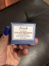 NEW FRESH LOTUS YOUTH PRESERVE FACE CREAM 7ml .24 Fl Oz WITH BOX SUPER 7 COMPLEX