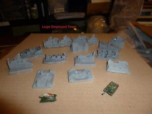 6mm/1:300th Scale Resin Building Sets