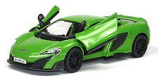 NEU: 2015 McLaren 675LT Sammlermodell 1:36 in grün Neuware von KINSMART