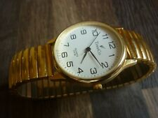 LARGE VERY NICE CONDITION CLEAN TIMECO QUARTS DRESS WATCH RUNS   - SPARES REPAIR