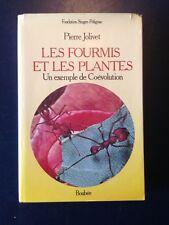 """""""Les Fourmis et les Plantes Exemple Coevolution"""" Jolivet ants myrmecology 1986"""