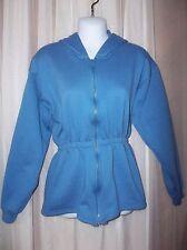 HANES Hooded Sweat Fleece JACKET COAT Girls Size XL 14-16