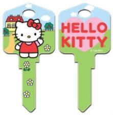 "HELLO KITTY "" HOUSE "" House Key Blank Kw1 Kwikset SANRIO REVERSABLE"