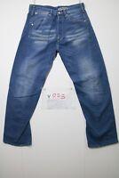 Levi's Engineered (Cod. Y878) Tg.47 W33 L34 jeans SHORTENED used vintage