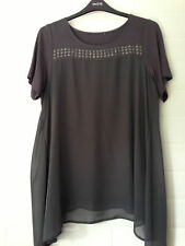Evans Plus Size No Pattern Casual Tops & Shirts for Women