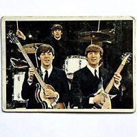 1964 Beatles Diary Cards #33A Paul, Ringo, John, TOPPS TCG George Speaking