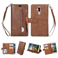 For Huawei Mate 9 Magnetic Flip PU Leather Wallet Case Stand Cover Card
