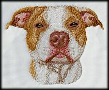 American Pit Bull, Pitbull Terrier Dog, Embroidered Patch and Hat