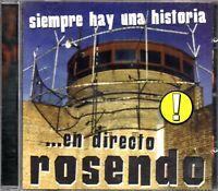 Rosendo – Siempre Hay Una Historia ... En Directo CD Album 1999