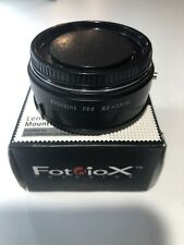Fotodiox Pro Lens Mount Adapter -  Pro MD-SN(A)