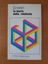 EINSTEIN 1980 NEWTON La Teoria Della Relatività