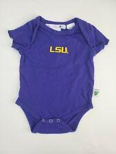 LSU Baby Bodysuit Purple Size 0-3 Months
