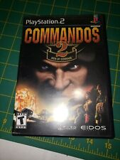 Commandos 2: Men of Courage (Sony PlayStation 2, 2002) Complete Free Shipping