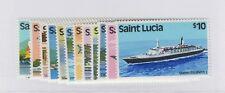St. Lucia - 1980 Transportation Set. Sc. #504-15 S.G. #537-48. Mint.