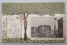 RARA 1898 Commemorativa Centenario indipendenza ticinese Lugano Agnelli Ticino
