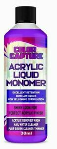 2021 New Acrylic Liquid Monomer Professional Salon Quality Acrylic Nails 30ML