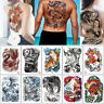 48*34cm Big Large Full Back for Woman Man Temporary Tattoo Dragon Tiger Stickers