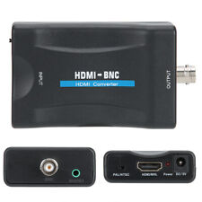 HDMI to SDI Converter HD Video Audio BNC Coaxial Cable Adapter /w PAL/NTSC