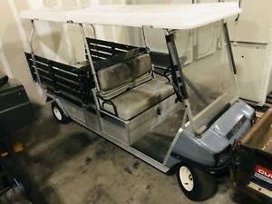 2005 Club Car Carryall 6 Gas Utility Golf Cart - NOT WORKING