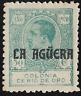 SPAIN & Colonies La Aguera 1920 King Alfonso XIII 50c.,Sc.10 Mint MH og.
