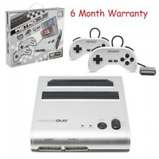 NES SNES Retro Duo Retro-Bit 2-in-1 System FC Game Twin Console (NEWEST VERSION)