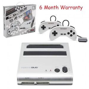 NES SNES Retro Duo Retro-Bit 2-in-1 System FC Game Twin Console (NEWEST VERSION)