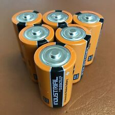 6 x Duracell C Size Industrial Procell Alkaline Batteries LR14 MN1400 BABY 2023