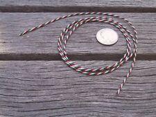 One Foot Vintage 4 Core Tone Arm Cable / Interconnect  - Ortofon Gray SME