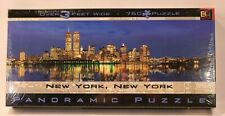NIB 750 Jigsaw Puzzle New York Panoramic BGI Buffalo Games 2000 World Trade Cent