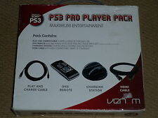 PLAYSTATION 3 PS3 USB CONTROLLER CHARGING DOCK DVD REMOTE HDMI Charger Cable NEW