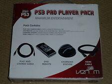 PLAYSTATION 3 PS3 Controller USB DI RICARICA DOCK DVD REMOTE HDMI Cavo Caricabatteria Nuovo
