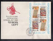 K 01) Cipro EUROPA CEPT FDC 1982-eventi storici