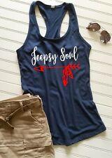 Jeep Lover's tank top,  Jeepsy Soul tank top, Ladies tank top, Women's tank top