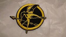 Hunger Games Bird with Arrow Iron On Embroidered Patch