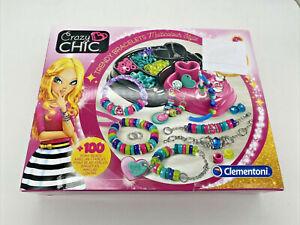 Clementoni® Kreativset »Crazy Chic Trendige Perlenarmbänder«, (Set)