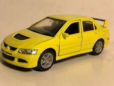 Welly Mitsubishi Lancer Evolution Xiii Evo 8 Yellow 132 Pull Back New No Box