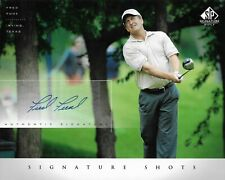 Fred Funk Signed 8x10 2004 SP Combined Shipping