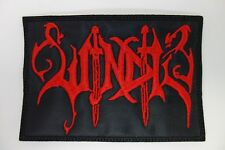 Windir red logo EMBROIDERED PATCH