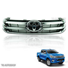 Chrome Front Grille Grill OEM Genuine Fit Toyota Hilux Revo UTE 2015 2016 2017