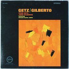 STAN GETZ, JOAO GILBERTO: Verve Bossa Nova Jazz w/ JOBIM Vinyl LP NM-