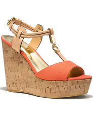 Coach Women's Linden Platform Sandal in Papaya Size 7.5 M