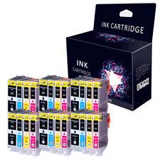 24 INK CARTRIDGES FOR CANON PIXMA iX4000 iX5000 MP500 MP510 MP520 PGI5 CLI8