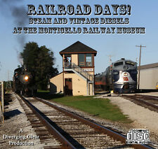 Train Sounds On CD: Steam and 1st Generation EMD Diesels - Railroad Days!