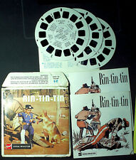 VIEW MASTER 21 PHOTOS EN RELIEF RIN-TIN-TIN - 1955