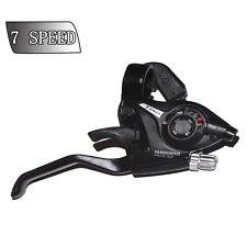 Shimano ST-EF51 Set 3 x 7 Shifter/Brake Lever Combo (21 Speed) Black V-Brake New