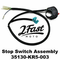 2FastMoto Honda ENGINE STOP SWITCH ASSEMBLY Reflex TLR200 86-87 35130-KR5-003