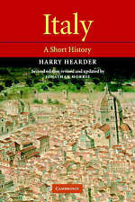 Good, Italy: A Short History, Morris, Jonathan, Hearder, Harry, Book