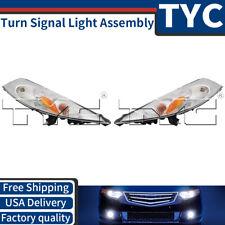 TYC 2X Front Left + Right Turn Signal Light Assembly Kit Set For 2011-2014 Juke