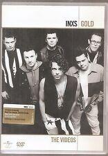 INXS GOLD THE VIDEOS DVD MUSIC 16 VIDEOS