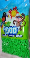 PERLER BEADS- BRIGHT GREEN